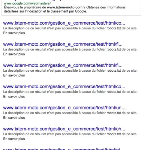Illustration 1 Astuce SEO Google pour savoir quelles pages de votre site sont référencées