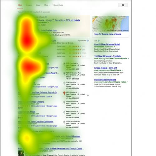 Illustration 1 Ecommerce : Résultats sur Google, où regardent les internautes ?