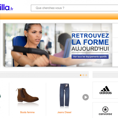 Illustration 1 Zoom sur Shopzilla - Comparateur de prix - Site Ecommerce