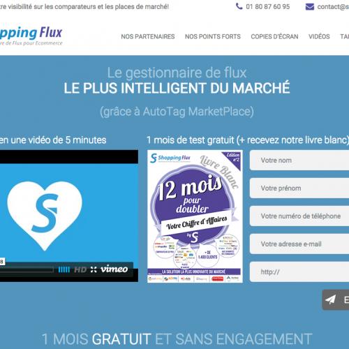 Illustration 1 Zoom sur Shopping Flux pour votre Ecommerce MAJ au 23-04