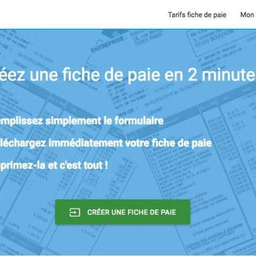 Illustration 1 La complexité du bulletin de salaire supprimée grâce à ce site Ecommerce