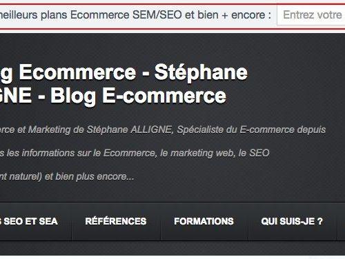 Illustration 1 Module barre newsletter pour un blog Ecommerce ou non d'ailleurs