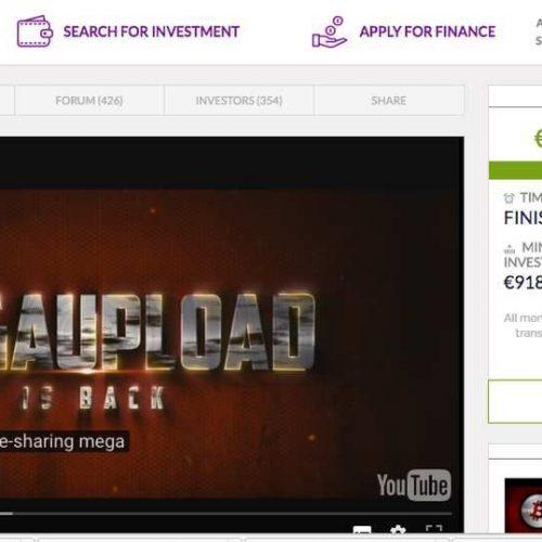 Illustration 1 Kim DOTCOM lève 1 Million d'€uros pour lancer Megaupload 2.0
