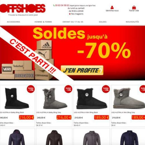 Illustration 1 Offshoes accélère dans la chaussure