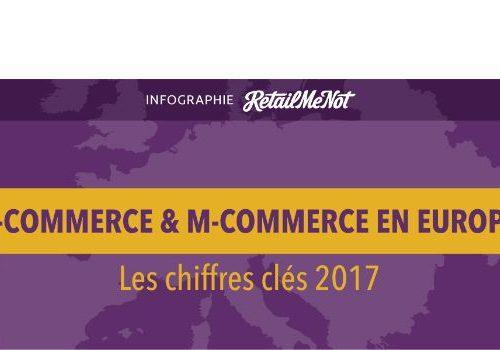Illustration 1 Les chiffres clés du Ecommerce en 2017 étude de retailmenot