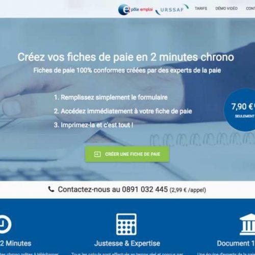 Illustration 1 Nouvelles fonctionnalités pour Fiche-Paie.net logiciel SaaS et Ecommerce de création de fiches de paie en ligne