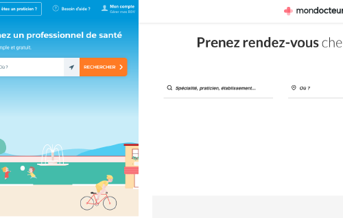 Illustration 1 MonDocteur racheté par Doctolib : Focus sur les 2 sociétés d'E-santé Françaises