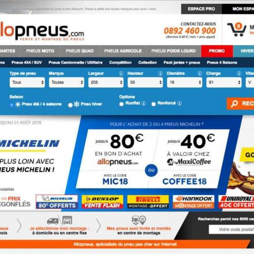 Illustration 1 [AQUISITION] AlloPneus le leader du Ecommerce de pneus acquiert Popgom
