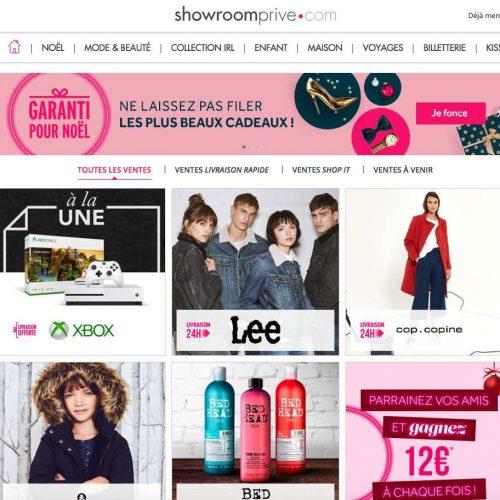 Illustration 1 [ECOMMERCE UP] Carrefour et les fondateurs de ShowroomPrive investissent 30 Millions d'euros afin de renforcer l'enseigne