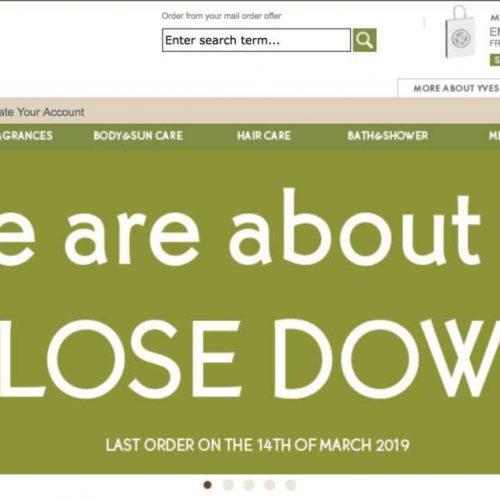 Illustration 1 [BREXIT] Yves-Rocher leader Français du Ecommerce des cosmétiques et des parfums ferme son site au Royaume-Uni
