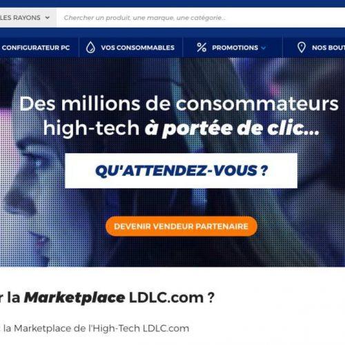 Illustration 1 [ECOMMERCE] Le groupe LDLC ouvre sa place de marché afin d'ajouter 100 000 références à son catalogue