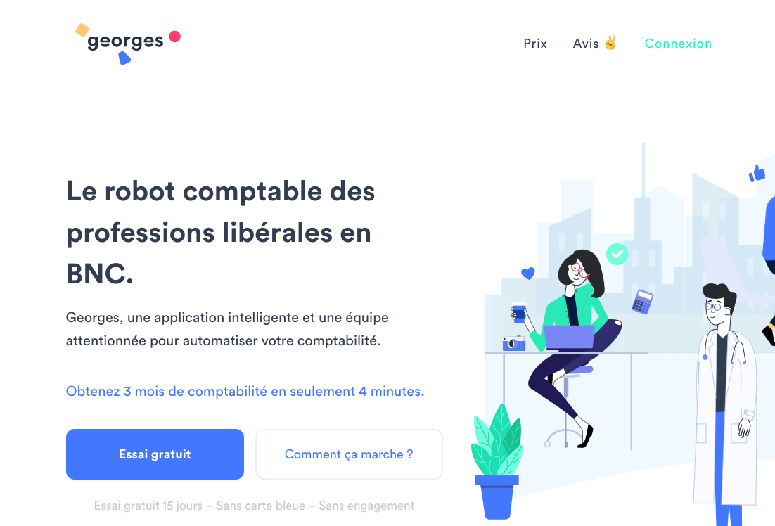[TECH] La start-up Georges.tech lève 10 Millions d'euros et embauche 40 personnes