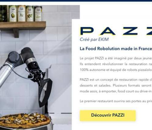 Illustration 1 [FOODTECH] La start-up Pazzi (ex-EKMI) lève 10 Millions d'euros pour sa pizzeria autonome