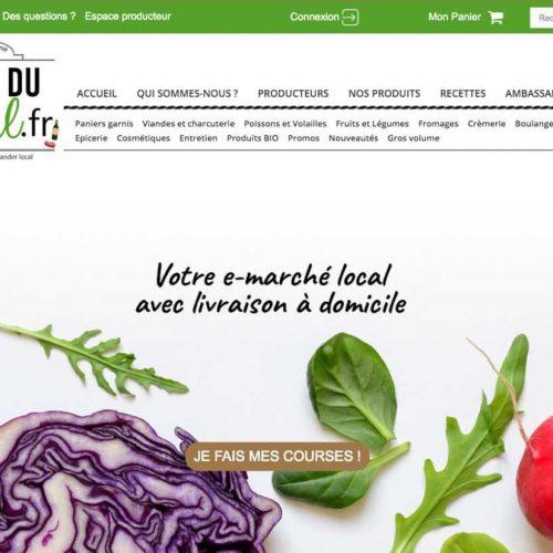 Illustration 1 [ECOMMERCE RESPONSABLE] Placedulocal.fr : Consommer MIEUX, acheter LOCAL, manger SAIN, une plateforme à découvrir