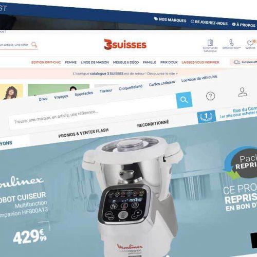 Illustration 1 [ECOMMERCE] Les 3Suisses en négociations exclusives pour la reprise de RueDuCommerce