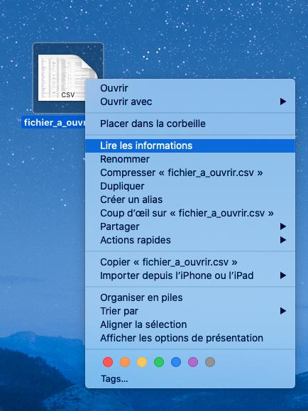 comment changer l'application par défaut sur Mac