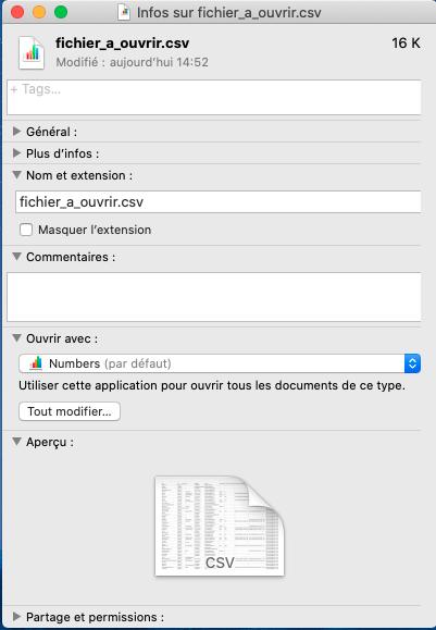Comment faire pour changer l'application d'ouverture d'un logiciel sur Mac